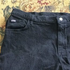 Riders Plus size black jeans